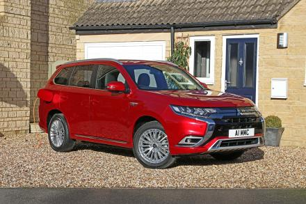 Mitsubishi Outlander Estate 2.4 PHEV Exceed Safety 5dr Auto