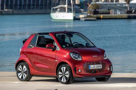 Smart Fortwo Electric Cabrio Special Editions 60kW EQ BRABUS Line 17kWh 2dr Auto [22kWCh]